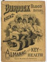 Burdock Blood Bitters almanac 1892